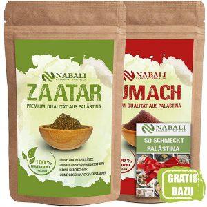Zatar und Sumach